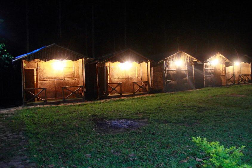 Bamboo Huts Deep Jungle Home