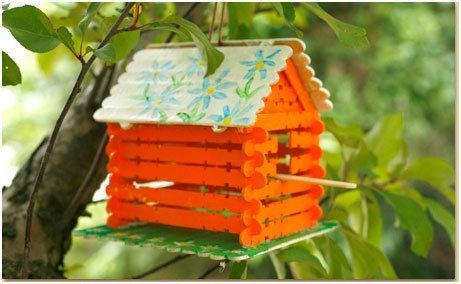 Making Bird Houses With Unused Material At Home Deep